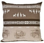 Home4you XMAS Story 45x45cm Brown/Beige