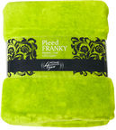 Home4you Franky Blanket 152x127cm Lime Green