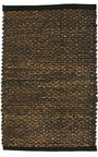 Home4you Seagrass Carpet 200x90cm Dark Brown