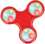 Blun Led Flash Hand Spinner Red