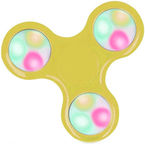 Blun Led Flash Hand Spinner Yellow