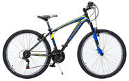 "Carratt Runner 26"" Black Blue Yellow"
