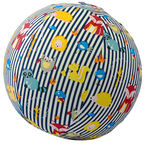 BubaBloon Balloon Ball Animal Stripes Blue