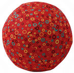 BubaBloon Balloon Ball Circles Print Red