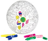 BubaBloon Balloon Ball Colour Your Own Travel Design