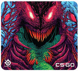 SteelSeries QcK+ Gaming Mouse Pad Hyper Beast Edition