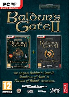 ATARI Baldur`s Gate II With Shadows