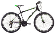 "Romet Rambler 1 14"" 26"" Black Green 17"