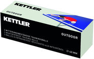 Kettler Outdoor Table Tennis Balls 40mm