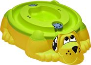 PalPlay Sand/Water Pit With Water Play Cover Dog Shape 300-432