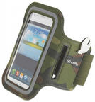 Celly Armband For Smartphones Up To 5'' Green