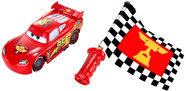 Mattel Disney Cars Flag Finish Lightning McQueen DPL07