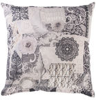 Home4you Holly Pillow 45x45cm Ornament White