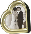 Poldom Photo Frame 13x18cm Gold Heart