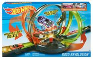 Mattel Hot Wheels Roto Revolution Track Set FDF26