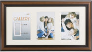 Victoria Collection Photo Frame Ema Gallery 20x40 3x 10x15 Brown