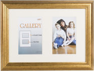 Victoria Collection Photo Frame Ema Gallery 21x29,7 2x 10x15 Gold