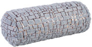 Home4you Pillow Roll Soft Winter D18x50cm Grey