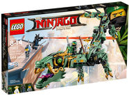 LEGO Green Ninja Mech Dragon 70612