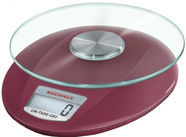 Soehnle Electronic Kitchen Scales Roma Ruby Red