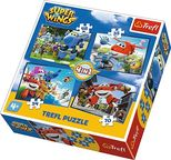 Trefl 4-in-1 Puzzle Super Wings 35/48/54/70pcs 34280