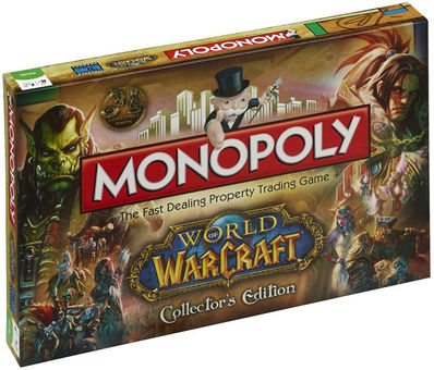 Hasbro Monopoly World Of Warcraft Collector`s