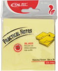 Avatar Sticky Notes 76x76mm Yellow