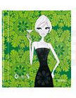Notepad City Girls Baroque 11x13cm Green