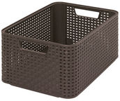 Curver Rattan Style Box M Brown