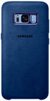 Samsung Alcantara Back Cover For Samsung Galaxy S8 Blue