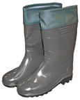 Diana PVC Boots With Collar 28cm 42