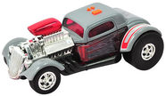 Toy State Road Rippers Rock & Roller Rat Rod Grey 33327
