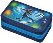 Herlitz 3 Piece Pencil Case Football/50008544