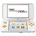Nintendo New 2DS XL White/Orange