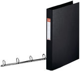 Esselte Folder 4 Rings 4cm Black