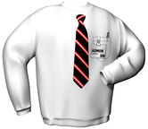 GamersWear Admin Sweater White M