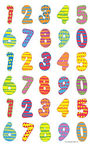 Herlitz Stickers Coloured Numbers