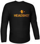 GamersWear Headshot Longsleeve Black S