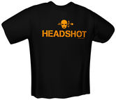 GamersWear Headshot T-Shirt Black XL