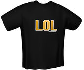 GamersWear LOL T-Shirt Black XL