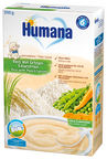 Humana Plain Cereal Rice with Peas & Carrots 200g