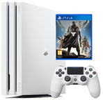 Sony PlayStation 4 Pro 1TB White Destiny 2 Bundle