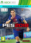 Pro Evolution Soccer 2018 Premium Edition Xbox 360