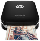 HP Sprocket Photo Printer Black Z3Z92A