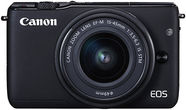 Canon EOS M10 with EF-M 15-45mm IS STM Black