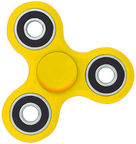 Blun Silent Spin Hand Spinner Yellow