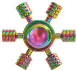 Blun Chameleon Color Hand Spinner In Metal Gift Box UFO
