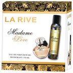 La Rive Madame In Love 90ml EDP + 150ml Deodorant Spray