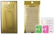 Gold Tempered Glass Screen Protector For Samsung Galaxy J3 J320
