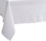 Room99 Tablecloth Waterproof White 130X180cm